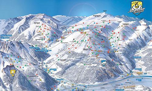 В Майрхофене три основных района катания, из которых Ахорн рекомендуется новичкам и лыжникам, имеющим некоторый опыт...