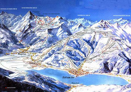 Горные лыжи в Цель ам Зее